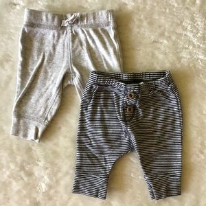 (2) Carters Pants - Newborn